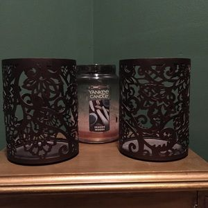 Set of 2 Candle Holders ~ Better Homes & Gardens